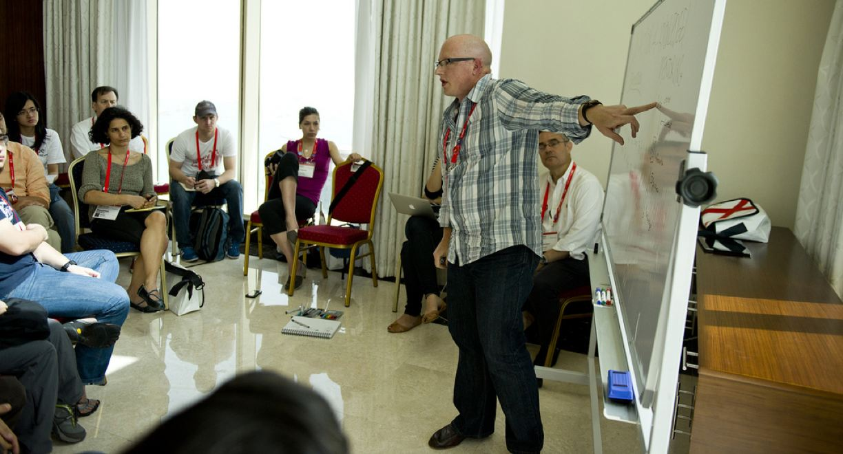 TEDSummit workshop in Qatar