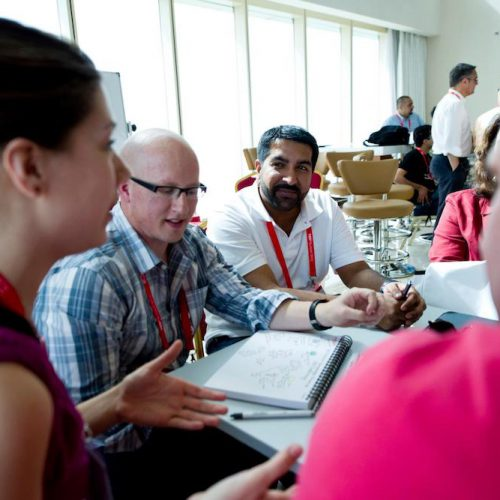 Group work at TEDSummit in Doha 2012